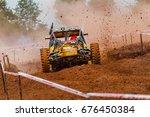 buggy car in off road... | Shutterstock . vector #676450384