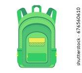 backpack. schoolbag.... | Shutterstock . vector #676560610