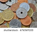 financial background consisting ... | Shutterstock . vector #676569103