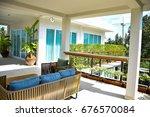 balcony | Shutterstock . vector #676570084
