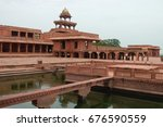 fatehpur sikri  india   august  ... | Shutterstock . vector #676590559