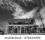 fin tube type of lube oil... | Shutterstock . vector #676616404