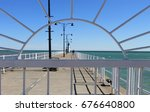 Framed View Of Pier At Lakevie...