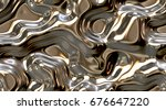 reflect and ripple metallic... | Shutterstock . vector #676647220