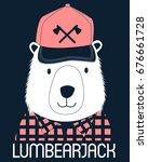 lumberjack illustration vector.   Shutterstock .eps vector #676661728