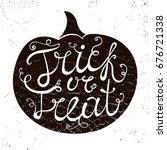 raster copy. halloween's... | Shutterstock . vector #676721338