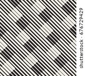 vector seamless geometric... | Shutterstock .eps vector #676729429