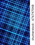 abstract blue technological...   Shutterstock . vector #676747048