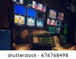 blurred picture video switch of ... | Shutterstock . vector #676768498