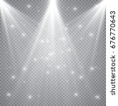 scene illumination  transparent ... | Shutterstock .eps vector #676770643