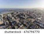 aerial view of downtown... | Shutterstock . vector #676796770