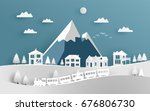 vector illustration of house... | Shutterstock .eps vector #676806730