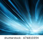abstract blue background ...   Shutterstock . vector #676810354