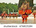 jakarta  indonesia   april 23 ... | Shutterstock . vector #676815184