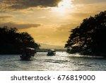 islands of granada in nicaragua | Shutterstock . vector #676819000