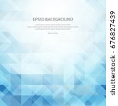 abstract background with... | Shutterstock .eps vector #676827439