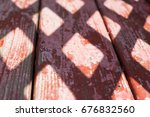 background of light and wood | Shutterstock . vector #676832560