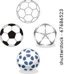 football   vector | Shutterstock .eps vector #67686523