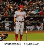 Zack Cozart Shortstop For The...