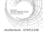 vector abstract background.... | Shutterstock .eps vector #676911148