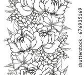 abstract elegance seamless... | Shutterstock .eps vector #676935169