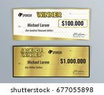 design template for award... | Shutterstock .eps vector #677055898