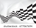 race flag wave  waveing...