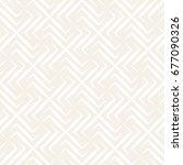 vector seamless cross tiling... | Shutterstock .eps vector #677090326