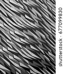 metal cladding patterns | Shutterstock . vector #677099830