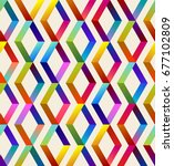 seamless background pattern... | Shutterstock .eps vector #677102809