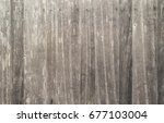 old wooden texture wall of home | Shutterstock . vector #677103004