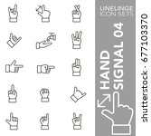 high quality thin line icons of ... | Shutterstock .eps vector #677103370