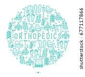 orthopedic and trauma...   Shutterstock .eps vector #677117866