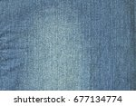 blue jeans texture.use for... | Shutterstock . vector #677134774