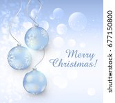 christmas card | Shutterstock .eps vector #677150800