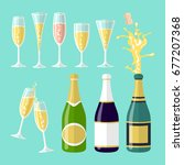 vector illustrations of several ...   Shutterstock .eps vector #677207368