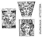 Detail Ancient Classic Buildin...