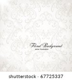 seamless wallpaper  vector... | Shutterstock .eps vector #67725337