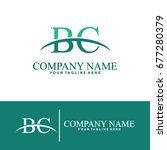 business of b and c initial... | Shutterstock .eps vector #677280379