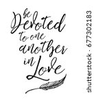 Be Devoted To One Another In...