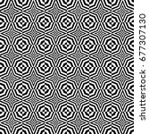 seamless pattern with black... | Shutterstock .eps vector #677307130