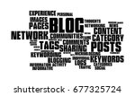 web logging word cloud | Shutterstock . vector #677325724