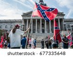 columbia  south carolina   july ... | Shutterstock . vector #677335648
