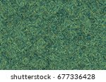 an abstract psychedelic... | Shutterstock . vector #677336428