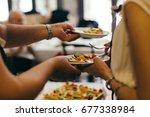 fruit dessert   Shutterstock . vector #677338984