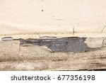 paint peeling from a wooden... | Shutterstock . vector #677356198