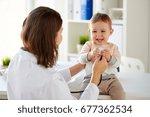 medicine  healthcare  pediatry...   Shutterstock . vector #677362534