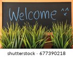 Small photo of welcome sign