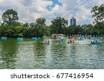 mexico city   july 15  2015 ... | Shutterstock . vector #677416954