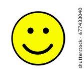 smile icon | Shutterstock . vector #677433040